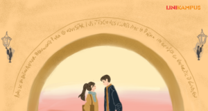 Ilustrasi Cerpen Kimberly [Ilustrator Linikampus/Hasnah]