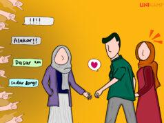 Ilustrasi Stop Labeli Perempuan dengan Pelakor