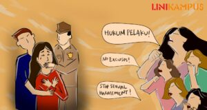Ilustrasi Pelindungan Hukum Bagi Korban Kekerasan Seksual [BP2M/Tria]